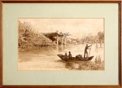 The Old Ferry, Keynsford